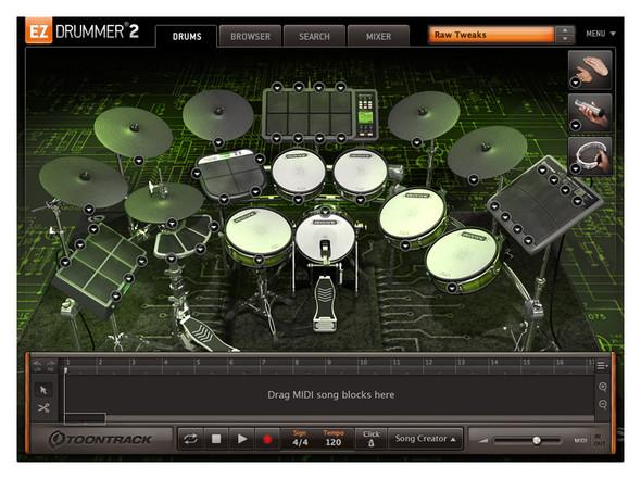 Toontrack EZX Electronic (Serial Download)
