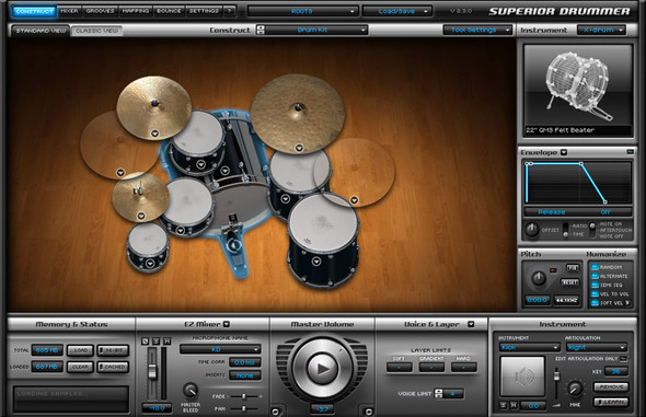 Toontrack SDX: Roots Bundle with Sticks with Brushes, Rods & Mallets (Serial Download)