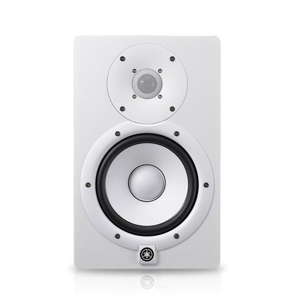 Yamaha HS7W Active Studio Monitor (Single, White)