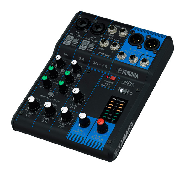 Yamaha MG06 Mixing Desk