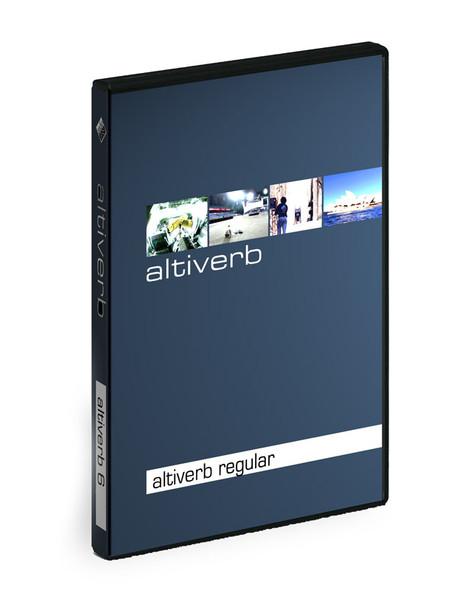 Audio Ease Altiverb 7 Regular, Native (Requires iLok 2) (Serial Download)