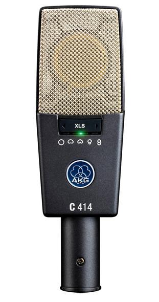 AKG  C414 XLS condenser microphone (as new)