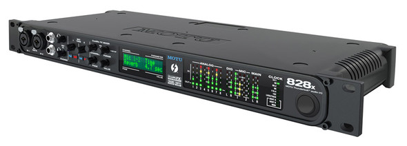 MOTU 828x Thunderbolt and USB 2 Audio Interface, cable not included