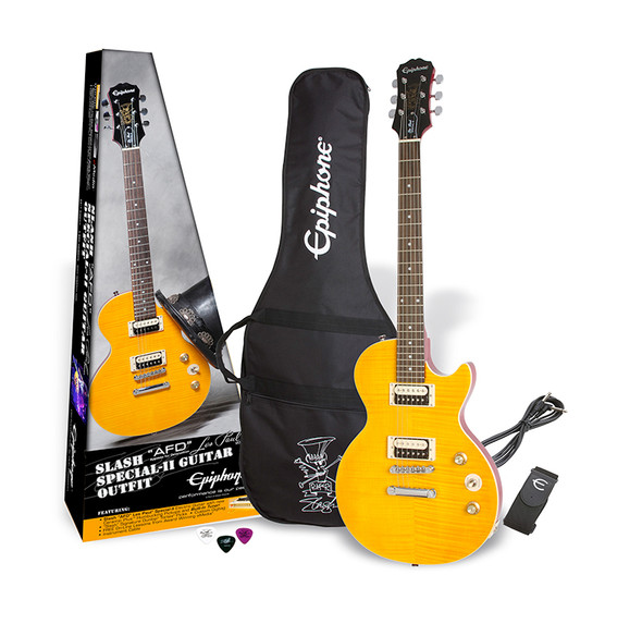 Epiphone Slash AFD Les Paul Special-II Electric Guitar Outfit