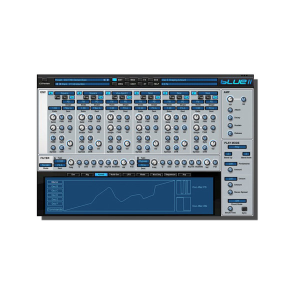 Rob Papen Blue II Software Synthesizer (Serial Download)