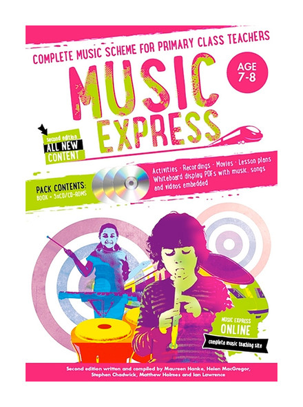 Bloomsbury Music Express 2nd Edition Age 7-8