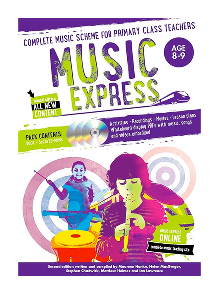 Bloomsbury Music Express 2nd Edition Age 8-9