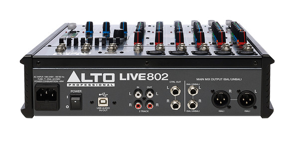 Alto Live 802 8 Channel Mixing Desk