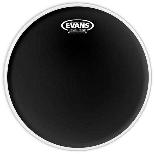 Evans TT12RBG Black Resonant 12 Inch Drum Head