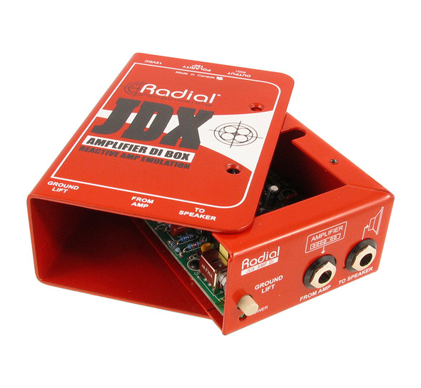 Radial JDX-48 Amplifier direct box