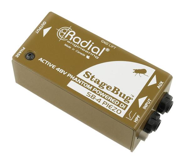 Radial StageBug SB-4 Piezo Active DI