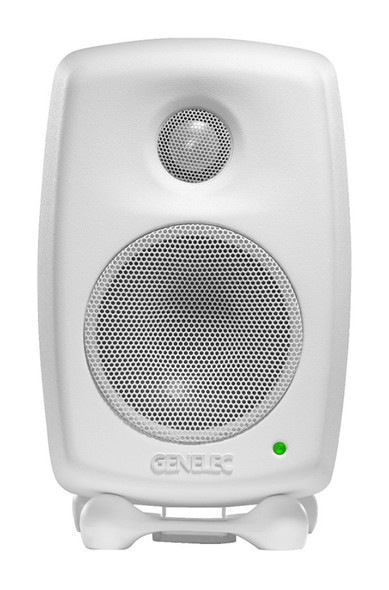 Genelec 8010A Active Studio Monitor, White (Single)