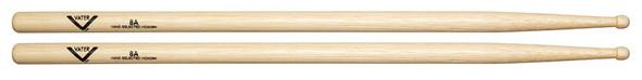 Vater Hickory 8a Wood Tip Drum Sticks