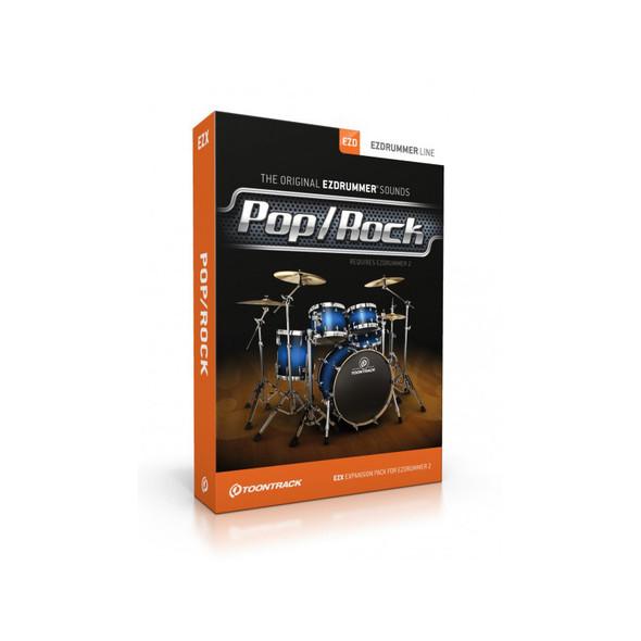 Toontrack EZX Pop/Rock (Serial Download)