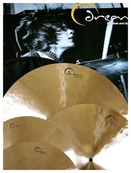 Dream Ignition Hand Hammered Cast Cymbal Set