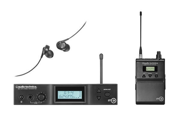 Audio Technica M3 Wireless In Ear Monitor System (IEM)
