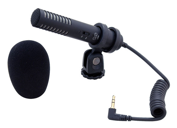 Audio Technica PRO24-CMF microphone (camera mount)