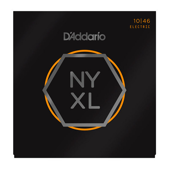 D'Addario NYXL1046 Nickel Wound Electric Guitar Strings, Regular Light 10-46