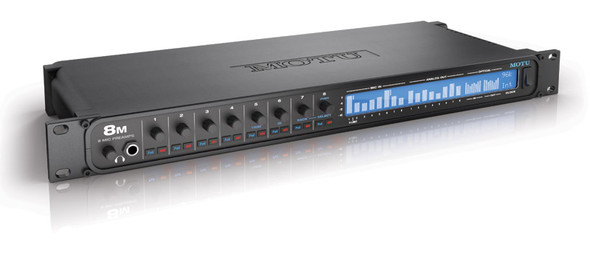 MOTU 8M Thunderbolt/Ethernet/USB Audio Interface with DSP