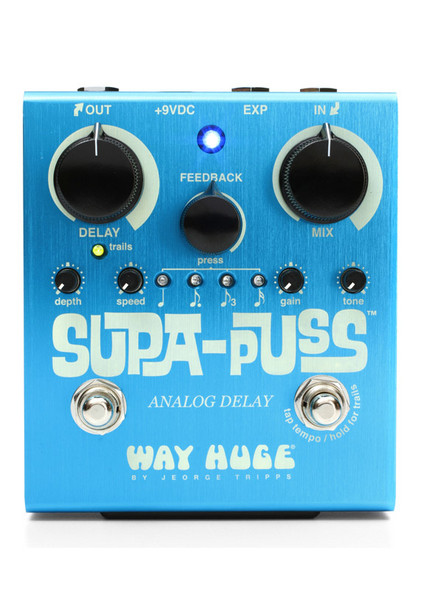 Way Huge Supa Puss Pedal Delay Effects Pedal