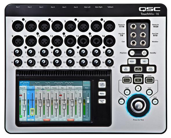 QSC TouchMix 16 Compact Digital Mixer