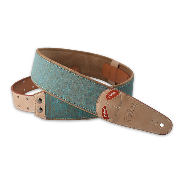 Right On Straps Mojo Series Boxeo Teal Guitar Strap