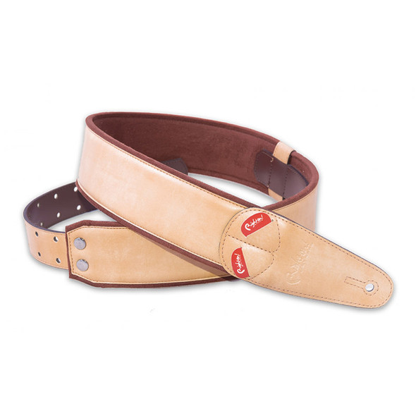 Right On Straps Mojo Series Charm Beige Guitar Strap