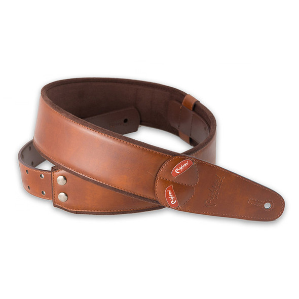 Right On Straps Mojo Series Charm Brown Guitar Strap