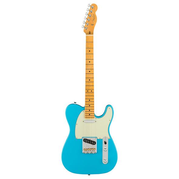 Fender American Pro II Telecaster Electric Guitar,  Miami Blue, Maple