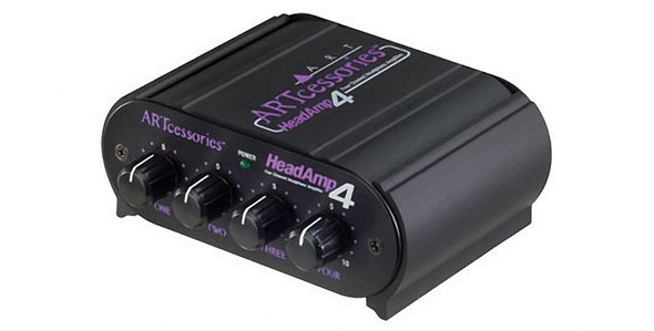 ART Headamp 4 Four Output Stereo Headphone Amplifier  (ex-display)