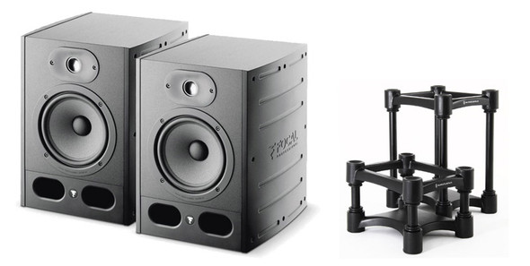 Focal Alpha 65 Active Studio Monitor Bundle