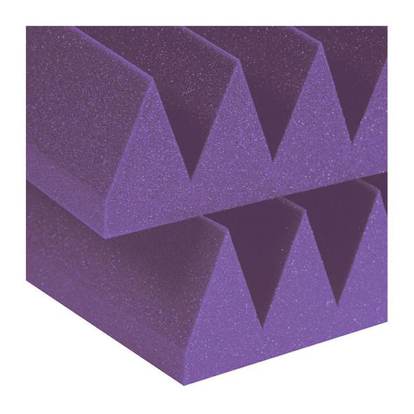 Auralex Studiofoam Wedges 4 inch Purple (6 Panels, 2ft x 4ft)
