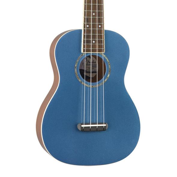 Fender Zuma Classic Concert Ukulele, Lake Placid Blue, Walnut Fingerboard