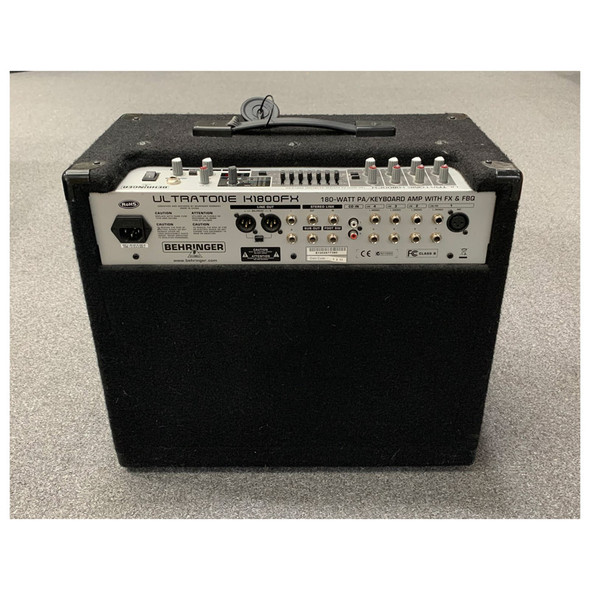 Behringer K1800FX Ultratone 180W 4 Channel PA System/Keyboard Amp (pre-owned)