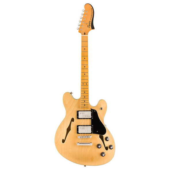 Fender Squier Classic Vibe Starcaster Electric Guitar Natural, Maple