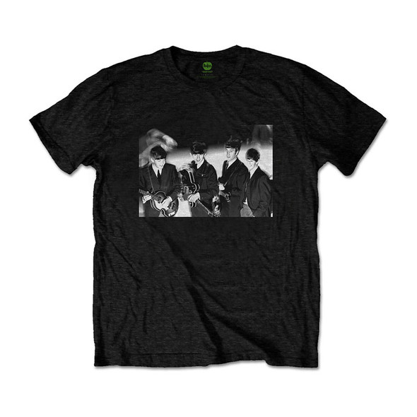 The Beatles Unisex Tee: Smiles Photo (Large)