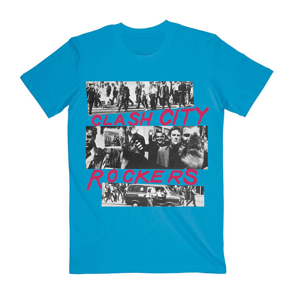The Clash Unisex Tee: City Rockers (Large)