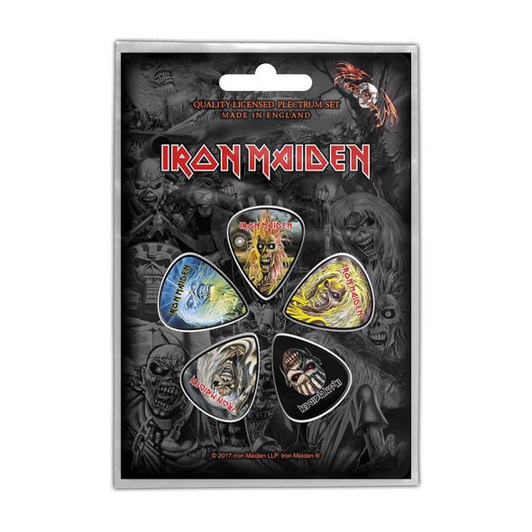 Iron Maiden Plectrum Pack: The Faces of Eddie