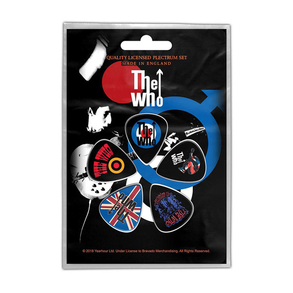 The Who Plectrum Pack: Pete Townsend