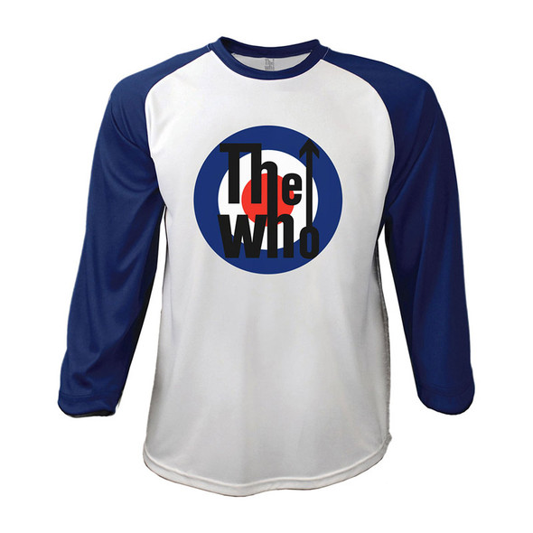 The Who Unisex Raglan Tee: 1969 Pinball Wizard (X-Large)