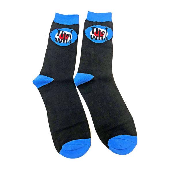 The Who Unisex Ankle Socks: Target Logo (UK Size 7 - 11)