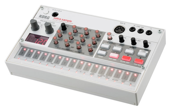 Korg Volca Sample Digital Sampling Sequencer