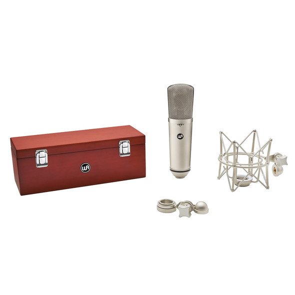 Warm Audio WA-87 R2 FET Condenser Microphone, Nickel