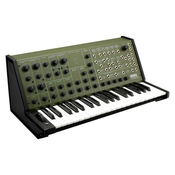 Korg MS-20 FS Analogue Synthesizer, Limited Edition Khaki