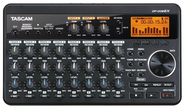 Tascam DP-008EX 8 Track Digital Pocketstudio  (ex-display)