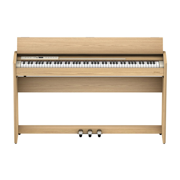 Roland F701-LA Digital Piano, Light Oak