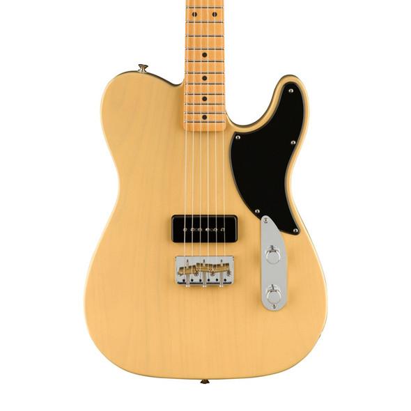 Fender Noventa Telecaster Electric Guitar, Vintage Blonde, Maple Fingerboard