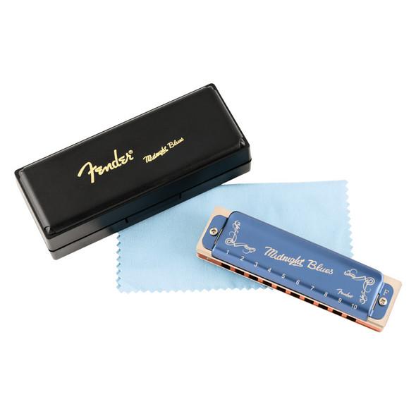 Fender Midnight Blues Harmonica, Key of F