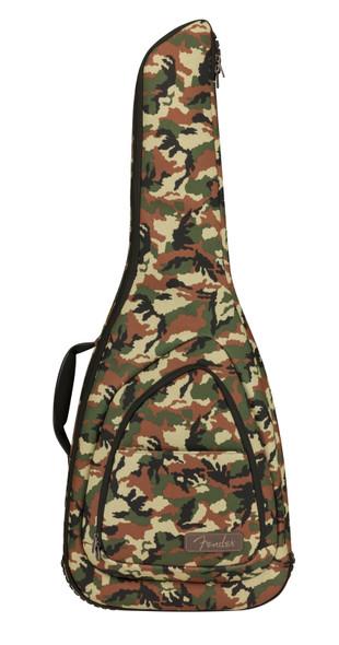 Fender FE920 Strat / Tele Gig Bag, Woodland Camo