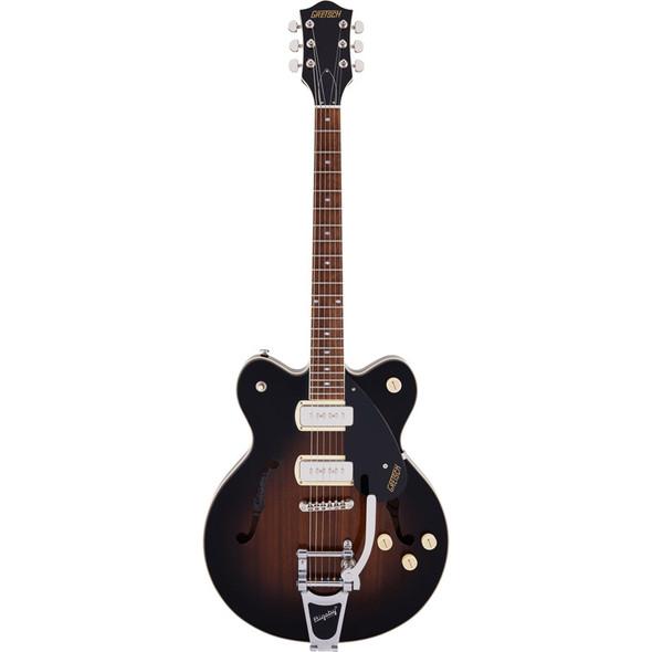 Gretsch G2622T-P90 Streamliner Center Block DC Electric Guitar, Brownstone